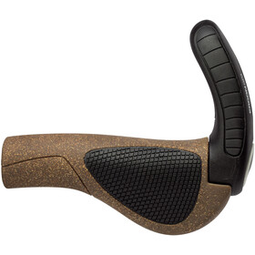 Ergon GP3 Corcho Orgánico Puños, brown/black